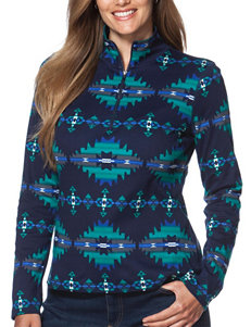 Chaps Navy Multi Shirts & Blouses