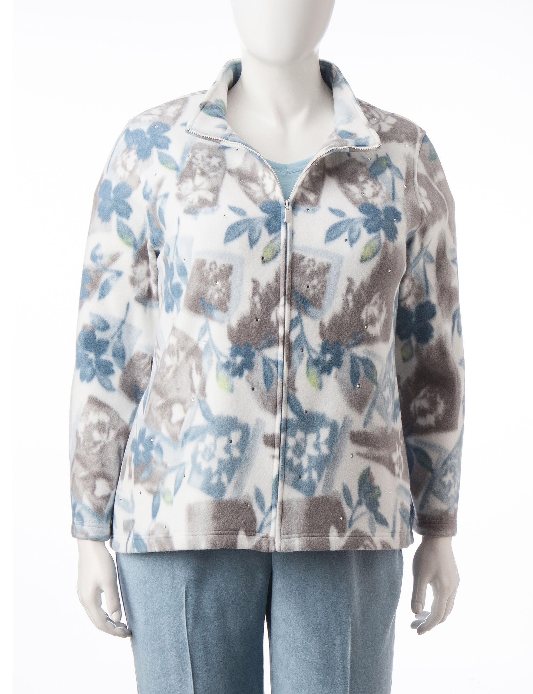 Alfred Dunner Multi Fleece & Soft Shell Jackets