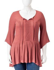 Energe Pink Shirts & Blouses