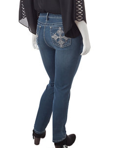 Earl Jean Plus-size Embellished Jeans