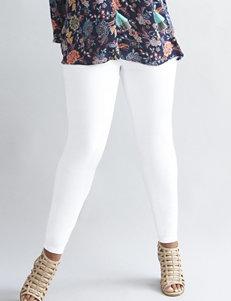 Earl Jean Plus-size Embellished White Jeans