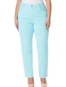 Gloria Vanderbilt Turquoise Straight