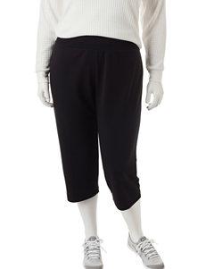 Cathy Daniels Plus-size Pull On Capri Pants