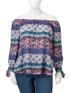 Hannah Blue / Multi Shirts & Blouses