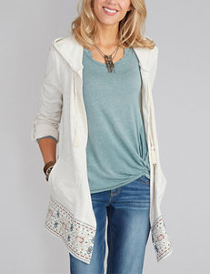Democracy Plus-size Embroidered Hoodie