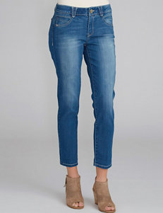 Democracy Plus-size Cropped Denim Jean