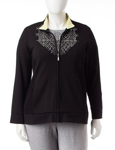 Alfred Dunner Plus-size Embellished Jacket