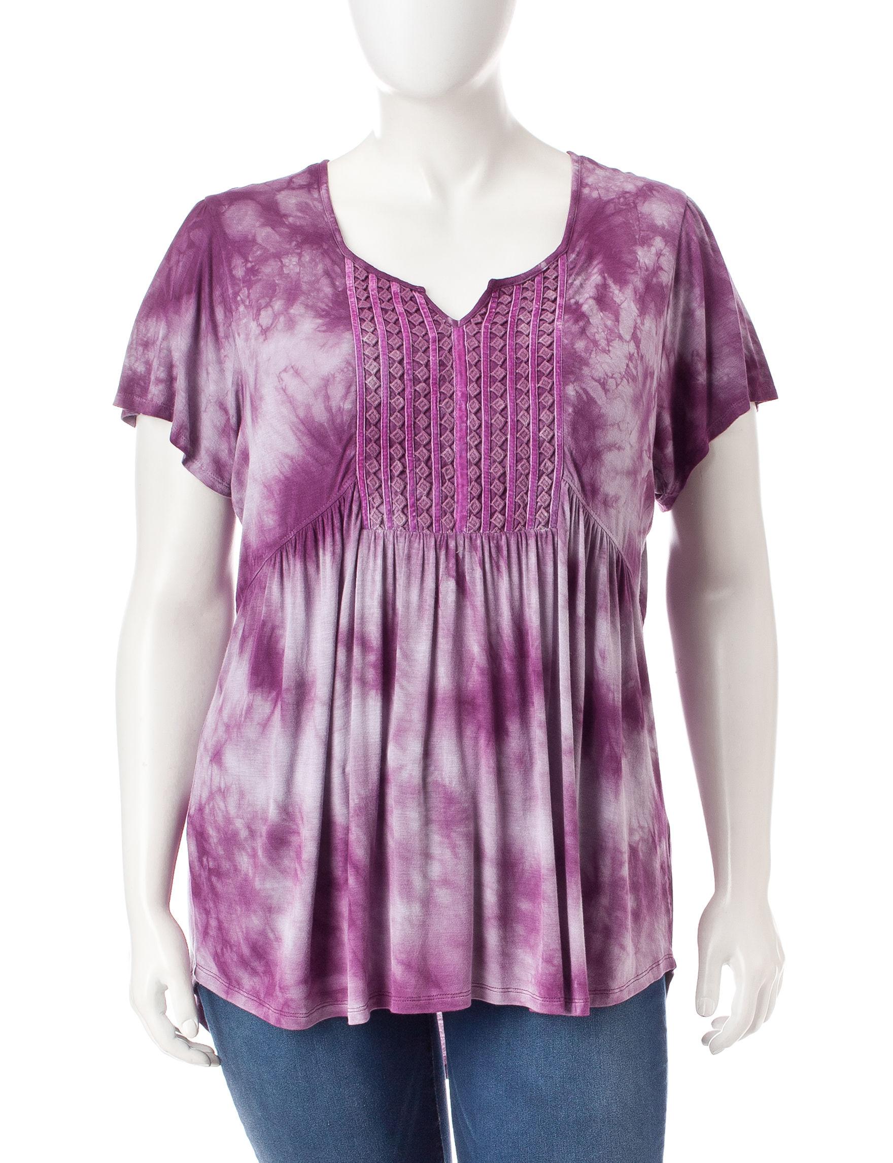 Energe Purple Shirts & Blouses