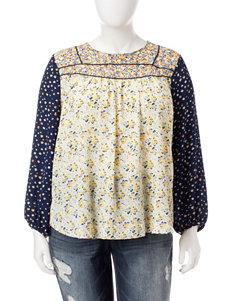 Hannah Yellow Shirts & Blouses
