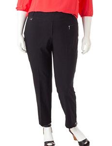 Valerie Stevens Plus-size Millennium Ankle Pants