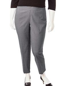 Valerie Stevens Plus-size Millennium Cropped Pants