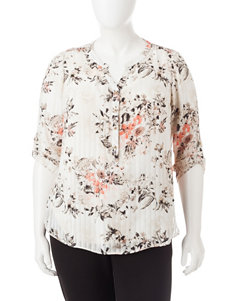 Sara Michelle Tan Shirts & Blouses