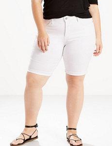 Levi's Plus-size Roll Cuff Bermuda Shorts