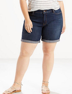 Levi's Plus-size Roll Cuff Shorts