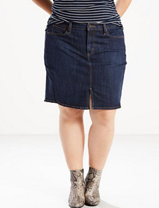 Levi's Plus-size Icon Skirt