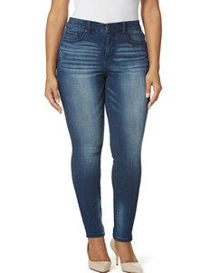 Vintage American Blues Plus-size Skinny Jeans