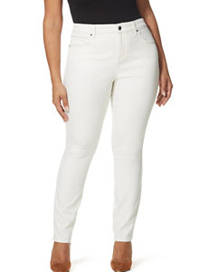 Vintage America Blues White Skinny
