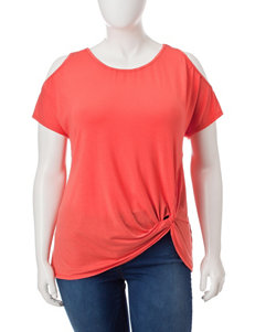 Democracy Orange Shirts & Blouses