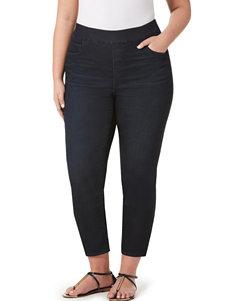 Bandolino Plus-size Legging Cropped Pants