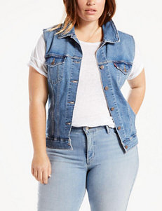Levi's Blue Vests