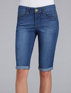 Democracy Blue Denim Shorts