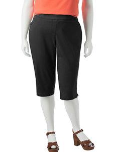 Briggs New York Plus-size Stretch Skimmer Pants