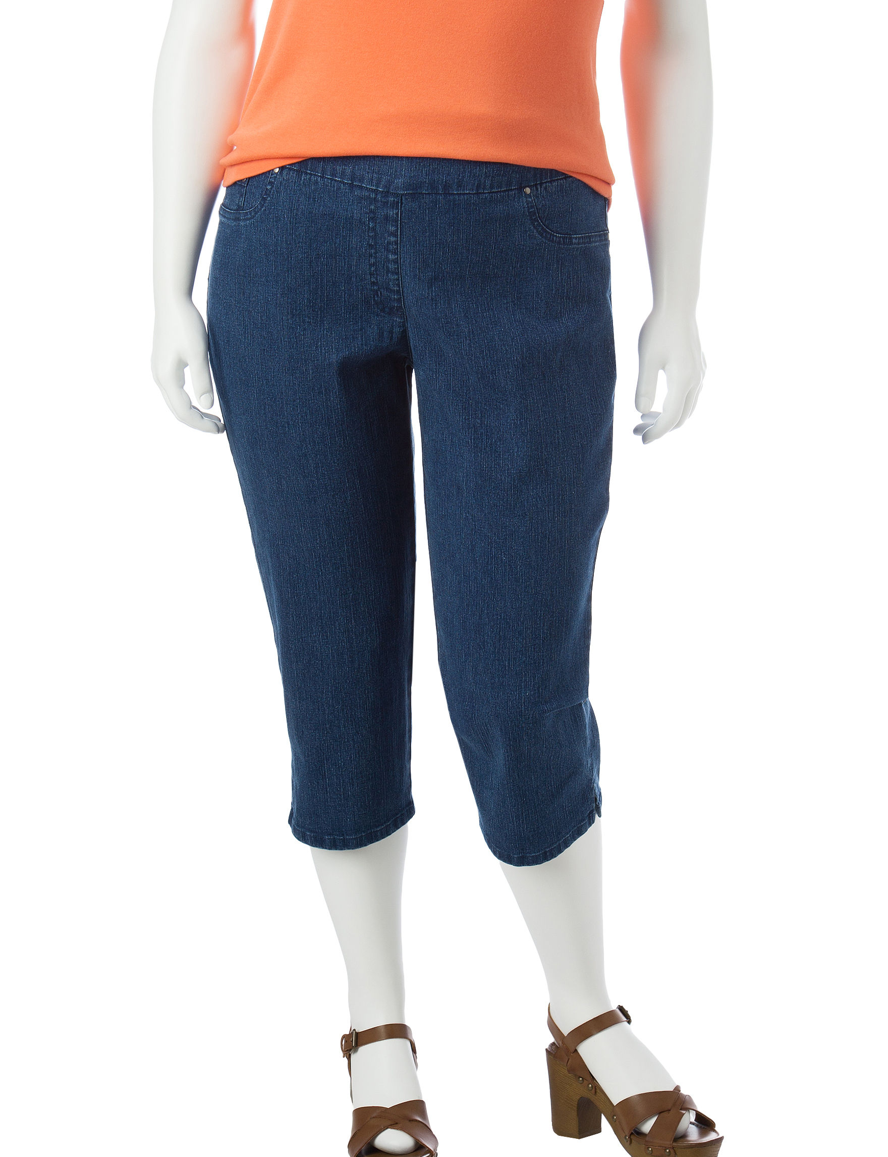 Ruby Road Plus-size Pull-On Capris | Stage Stores