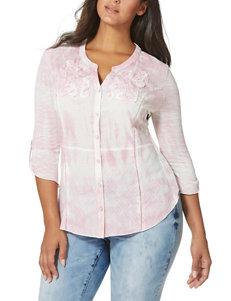 Vintage America Blues Pink Shirts & Blouses