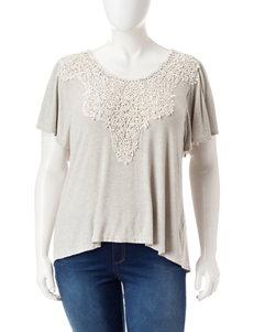 Hannah Grey / Ivory Shirts & Blouses