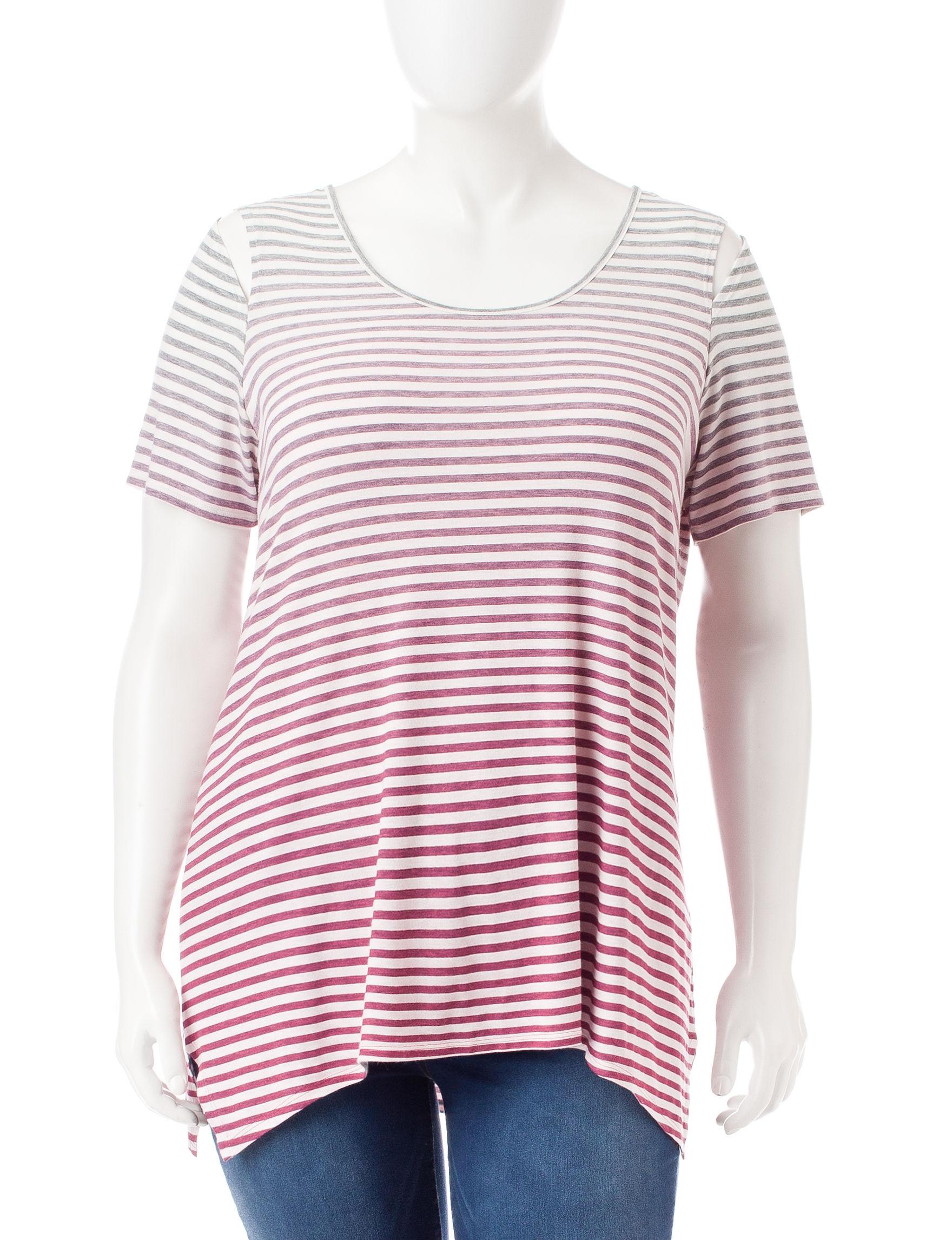 Hannah Pink Shirts & Blouses
