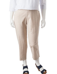 Cathy Daniels Plus-size Pull-On Ankle Pants