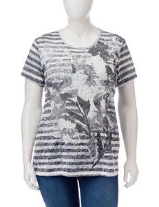Hannah Black Shirts & Blouses