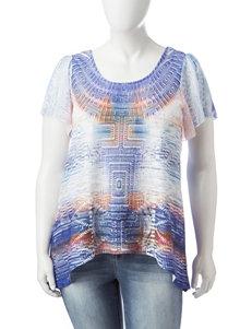 Energe Turquoise Shirts & Blouses