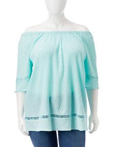 Rebecca Malone Mint Green Shirts & Blouses