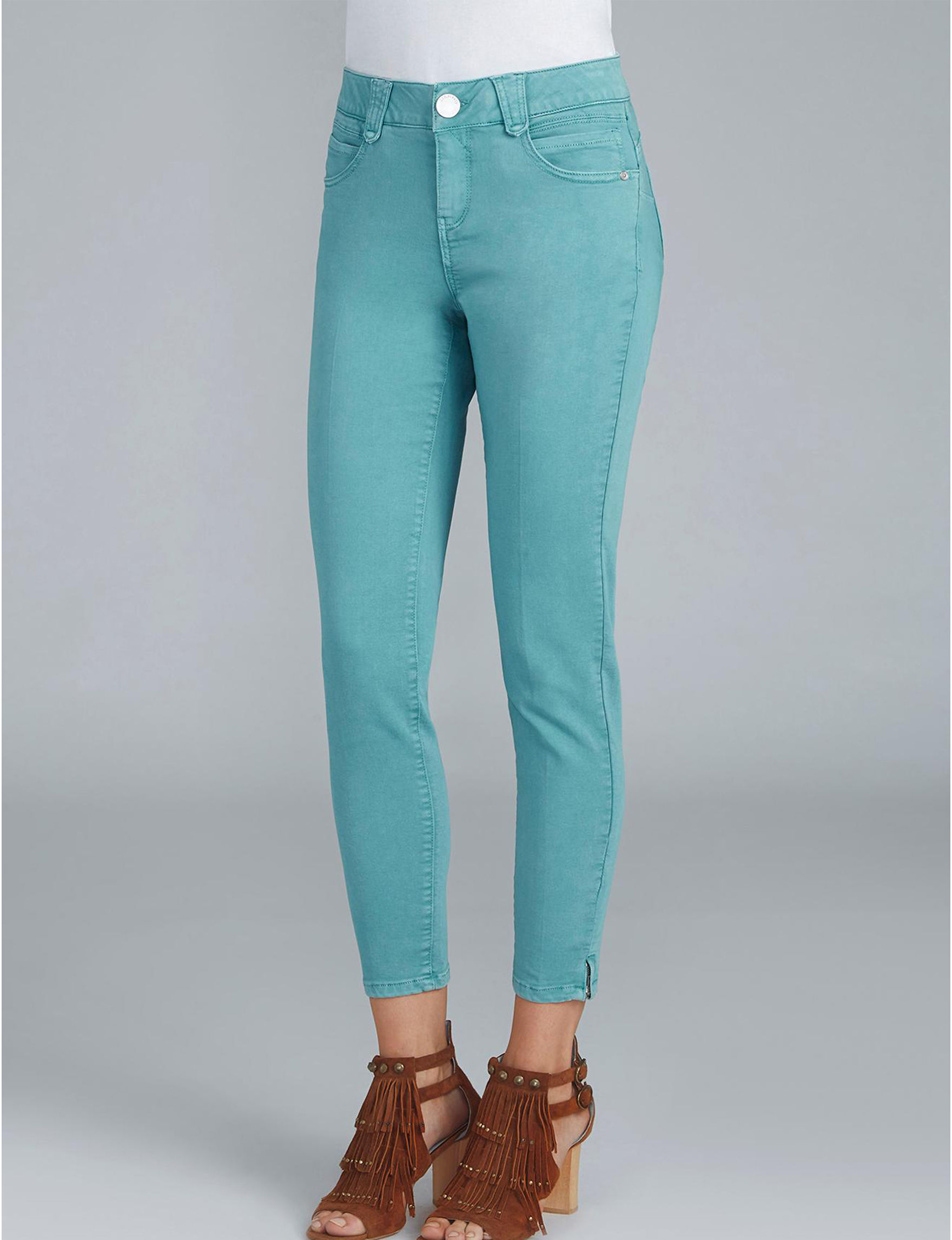 Democracy Teal Skinny