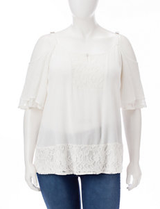 Vintage America Blues White Shirts & Blouses