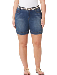 Bandolino Dark Blue Denim Shorts