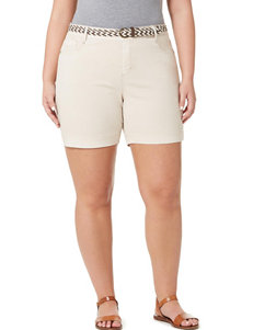 Bandolino White Denim Shorts