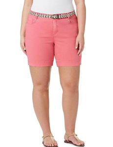 Bandolino Red Denim Shorts