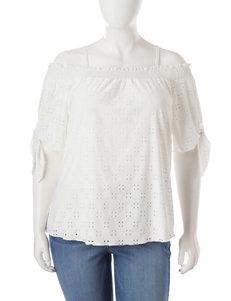 Signature Studio Ivory Shirts & Blouses