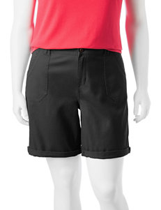 Hannah Plus-size Rolled Cuff Shorts