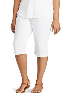 Chaps Plus-size Twill Skimmer Shorts