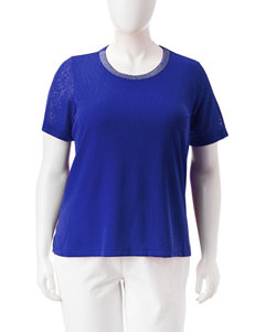 Cathy Daniels Royal Blue Shirts & Blouses