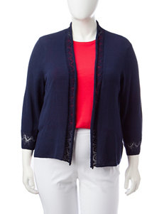 Ruby Road Navy Cardigans