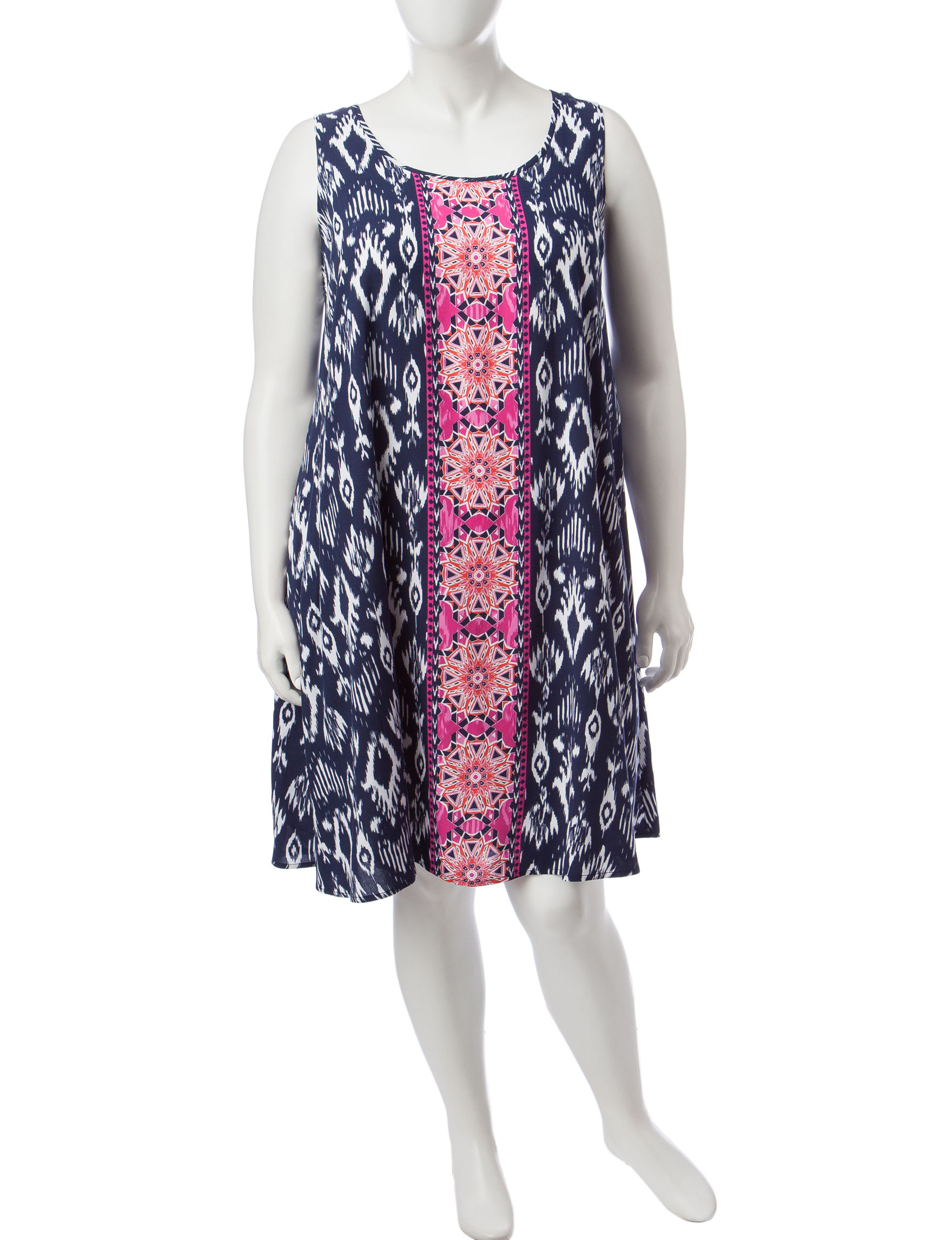 Ruby Road Navy Multi Everyday & Casual