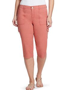 Gloria Vanderbilt Orange Capris & Crops