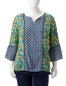 Ruby Road Yellow Shirts & Blouses