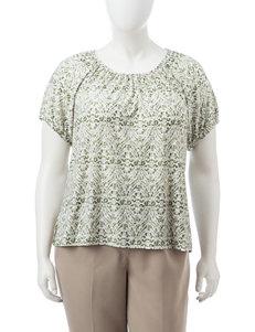 Rebecca Malone Olive Shirts & Blouses