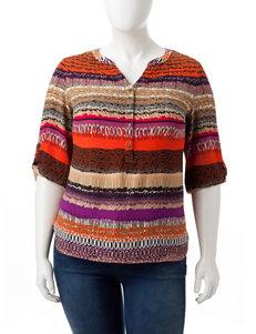 Sara Michelle Multi Shirts & Blouses