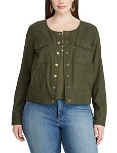 Chaps Plus-size Lightweight Twill Jacket